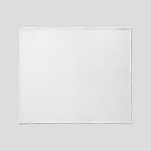 Logo-white-big Throw Blanket