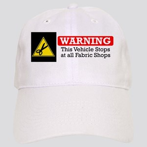 fabric warning magnet Cap