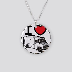 16_FoodTruck_ILove Necklace Circle Charm