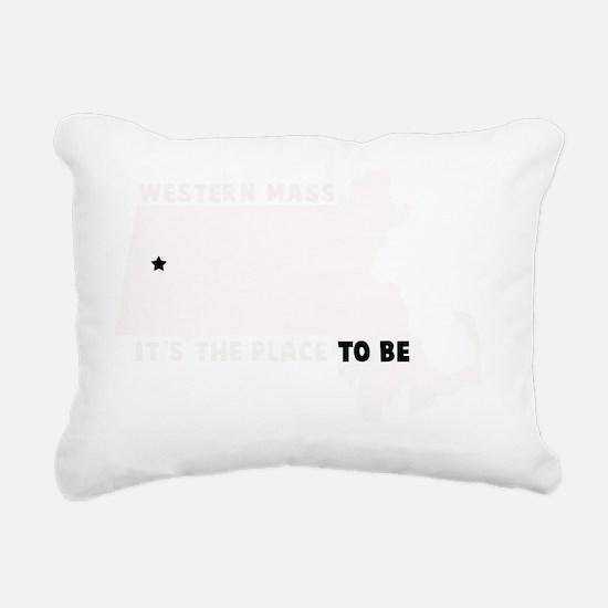WESTERN MASS ITS THE PLA Rectangular Canvas Pillow
