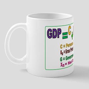 GDP poster Mug