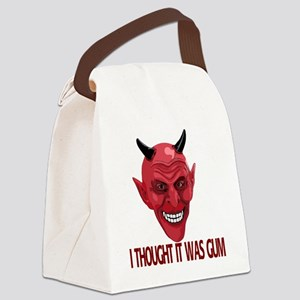 A-Devil-gum-10trans Canvas Lunch Bag