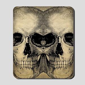 vintage_skull_flipflops Mousepad