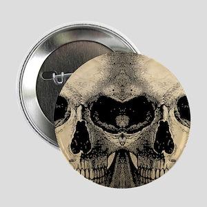 "vintage_skull_flipflops 2.25"" Button"