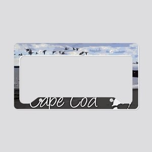CAPEBLUILLUStemp_laptop_skin License Plate Holder