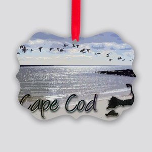 capebluillusbkrnbwtemp_laptop_ski Picture Ornament