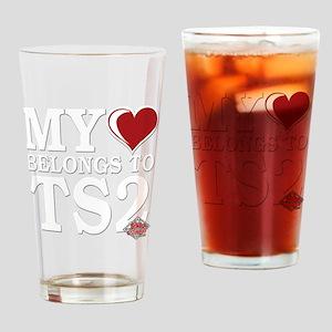 My-Heart-Belongs-to-TS2 copy Drinking Glass