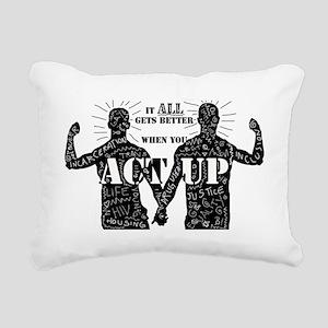 It All Gets Better Rectangular Canvas Pillow