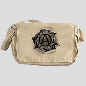 alf-white-01 Messenger Bag