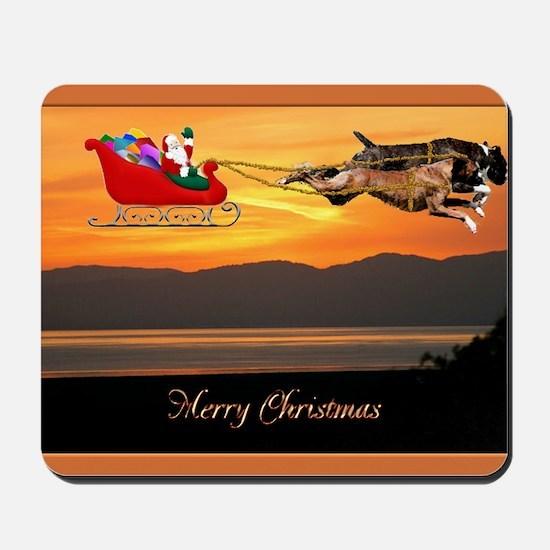 Christmas Card 1FullsizeBorder Mousepad