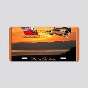 Christmas Card 1FullsizeBor Aluminum License Plate
