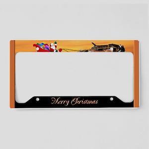 Christmas Card 1FullsizeBorde License Plate Holder