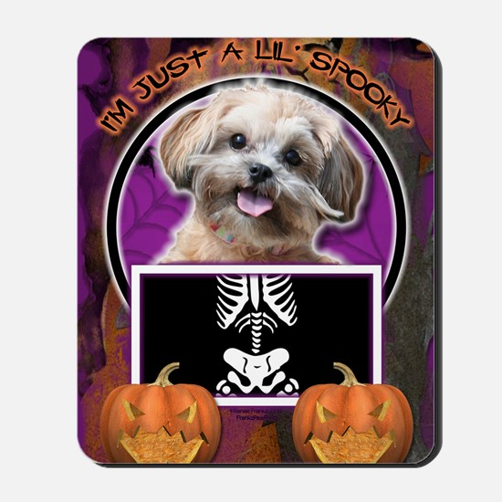 LilSpookyShihPooMaggie Mousepad