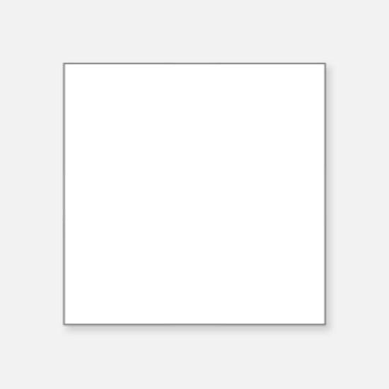 """Gearhead Square Sticker 3"""" x 3"""""""