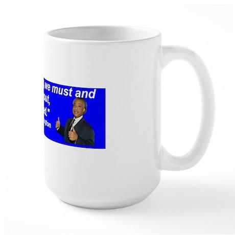resistwemuch Large Mug