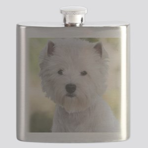 West Highland White Terrier 9Y788D-385 Flask
