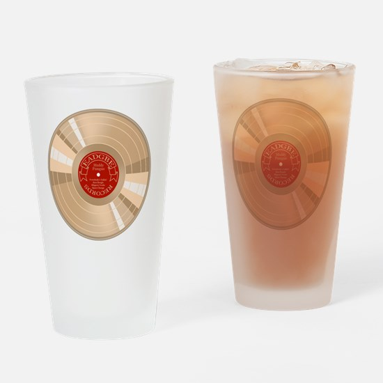 gold-record-T Drinking Glass