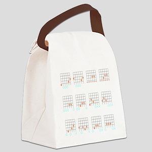 Guitar Cheat Shirt-Inverse Canvas Lunch Bag