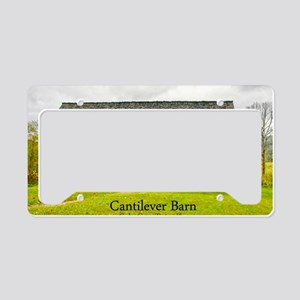 CadesCoveBarn_laptop License Plate Holder