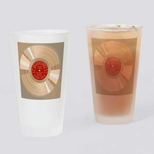 gold-record-TIL Drinking Glass