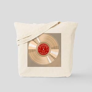 gold-record-TIL Tote Bag