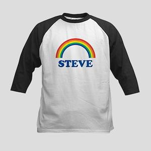 STEVE (rainbow) Kids Baseball Jersey
