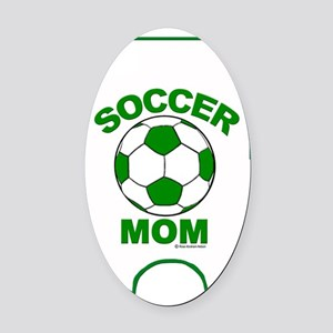 iPhone 4 patch Green Oval Car Magnet