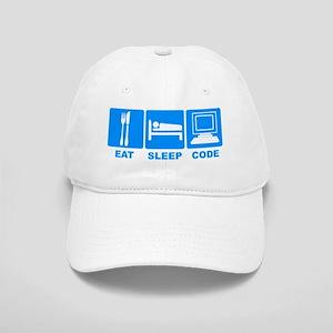 Eat Sleep Code Cap