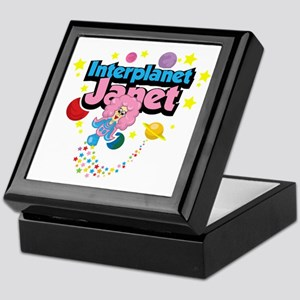 Interplanet-Janet Keepsake Box