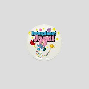 Interplanet-Janet Mini Button