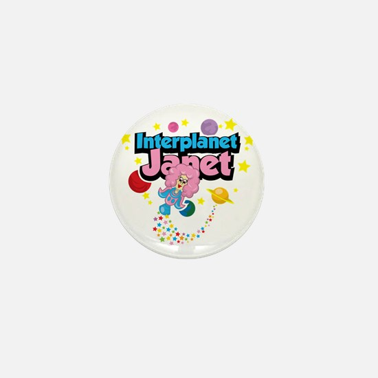 Interplanet-Janet Mini Button