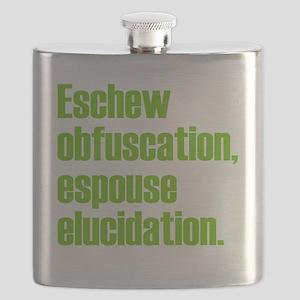 Eschew-shirt2 Flask
