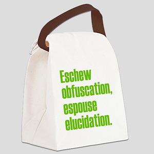 Eschew-shirt2 Canvas Lunch Bag