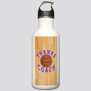 Thanks Basketball Coac Stainless Water Bottle 1.0L