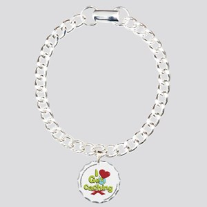 geocaching BUTTON promo Charm Bracelet, One Charm