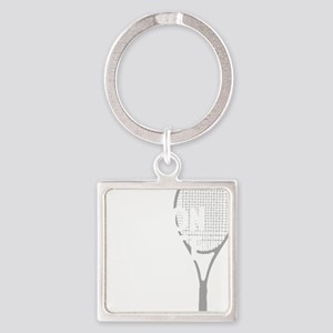 tennisWeapon1 Square Keychain