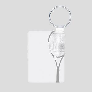 tennisWeapon1 Aluminum Photo Keychain