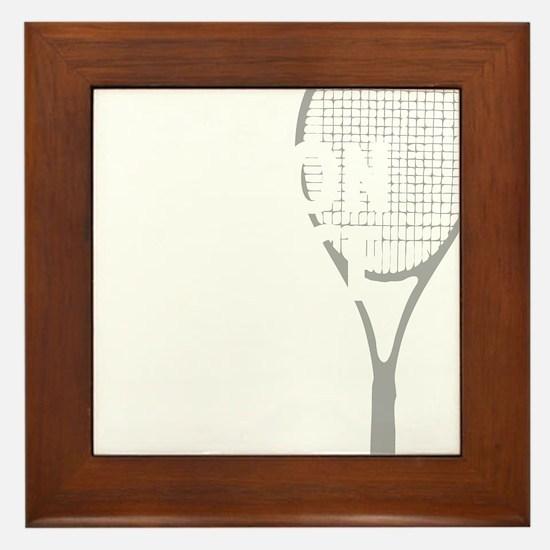 tennisWeapon1 Framed Tile