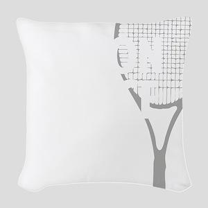 tennisWeapon1 Woven Throw Pillow