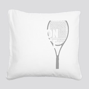 tennisWeapon1 Square Canvas Pillow