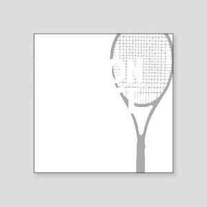 """tennisWeapon1 Square Sticker 3"""" x 3"""""""