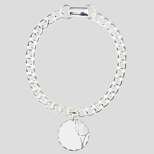 tennisWeapon1 Charm Bracelet, One Charm