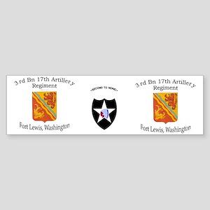 1st Bn 37th FA mug1 Sticker (Bumper)