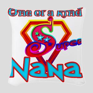 Super Nana Woven Throw Pillow