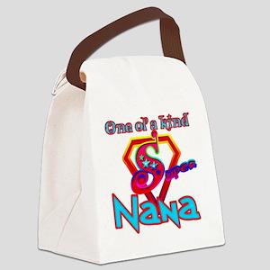 Super Nana Canvas Lunch Bag
