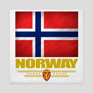 Norway2 (Flag 10) Queen Duvet