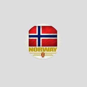 Norway2 (Flag 10) Mini Button