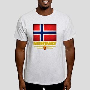 Norway2 (Flag 10) Light T-Shirt
