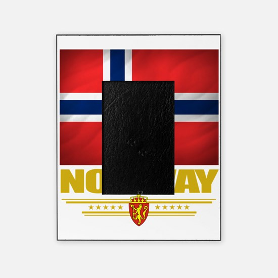Norway2 (Flag 10) Picture Frame