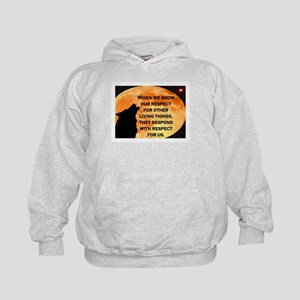 SHOW RESPECT FOR ALL Kids Hoodie